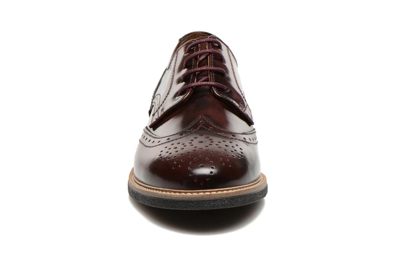 Chaussures à lacets TBS Blasty Bordeaux vue portées chaussures