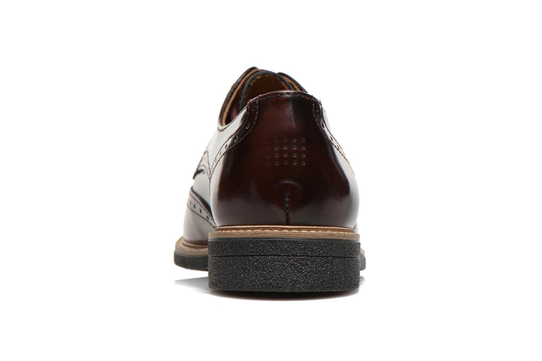 Chaussures à lacets TBS Blasty Bordeaux vue droite