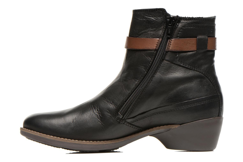 Boots en enkellaarsjes TBS Gently Zwart voorkant