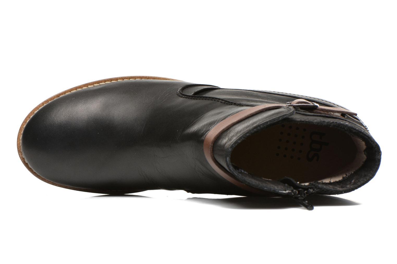 Boots en enkellaarsjes TBS Gently Zwart links