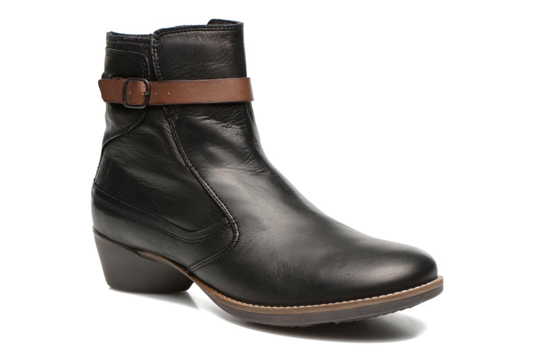 Boots en enkellaarsjes TBS Gently Zwart detail