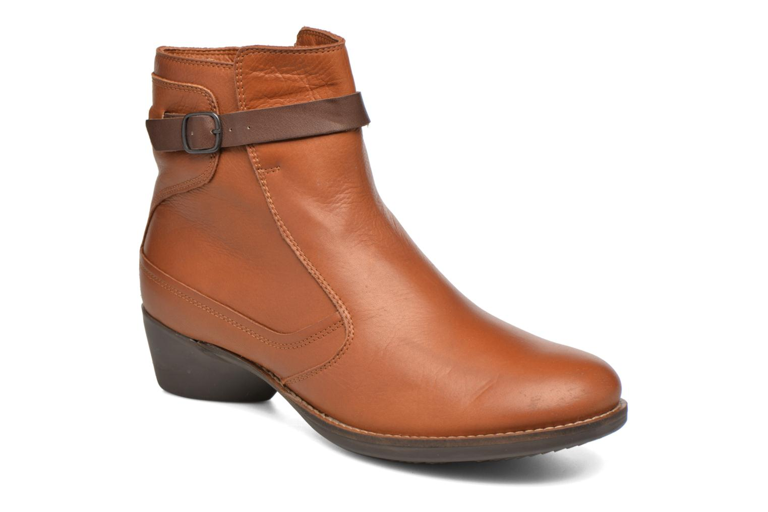 Bottines et boots TBS Gently Marron vue détail/paire