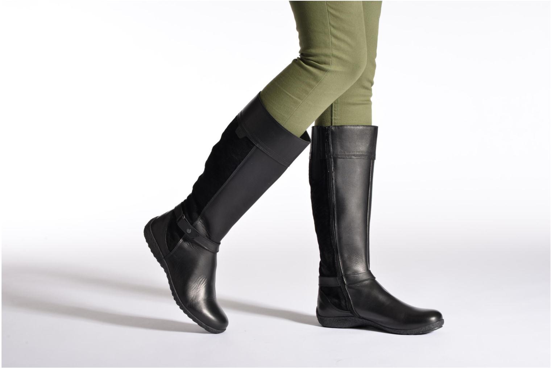 Stiefel TBS Kimmy schwarz ansicht von unten / tasche getragen
