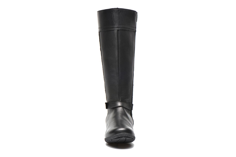 Bottes TBS Kimmy Noir vue portées chaussures