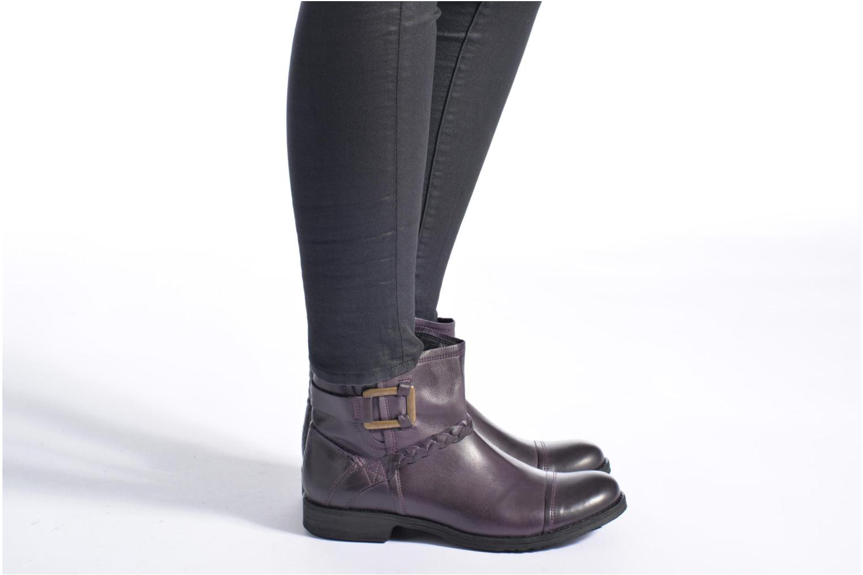 Bottines et boots TBS Melina Marron vue bas / vue portée sac