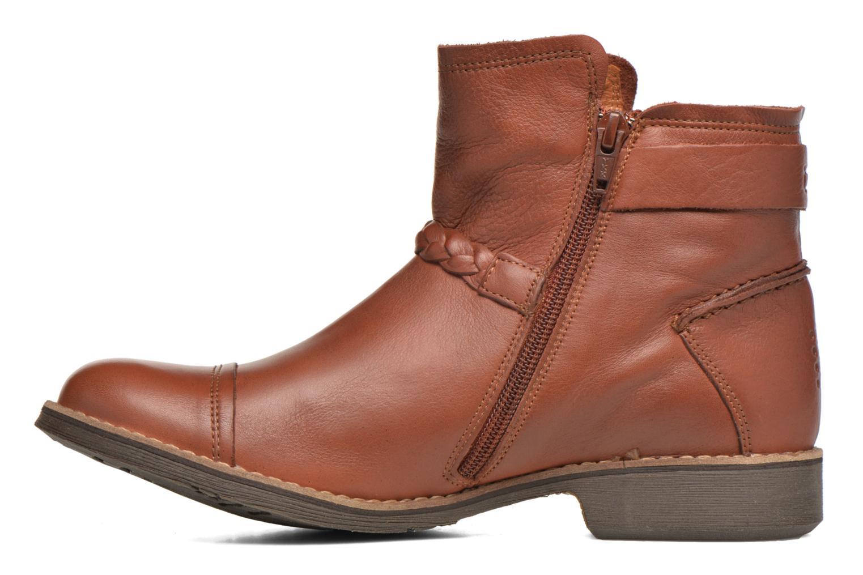 Bottines et boots TBS Melina Marron vue face