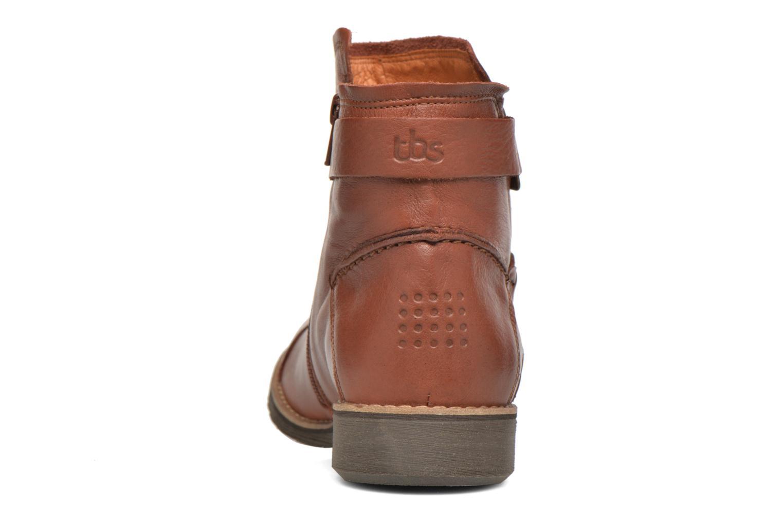 Bottines et boots TBS Melina Marron vue droite