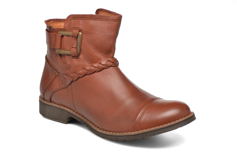 Bottines et boots TBS Melina Marron vue détail/paire