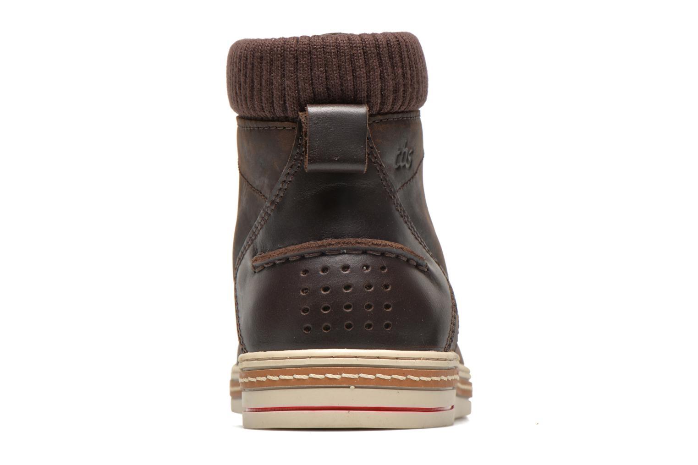 Chaussures à lacets TBS Nannos Marron vue droite