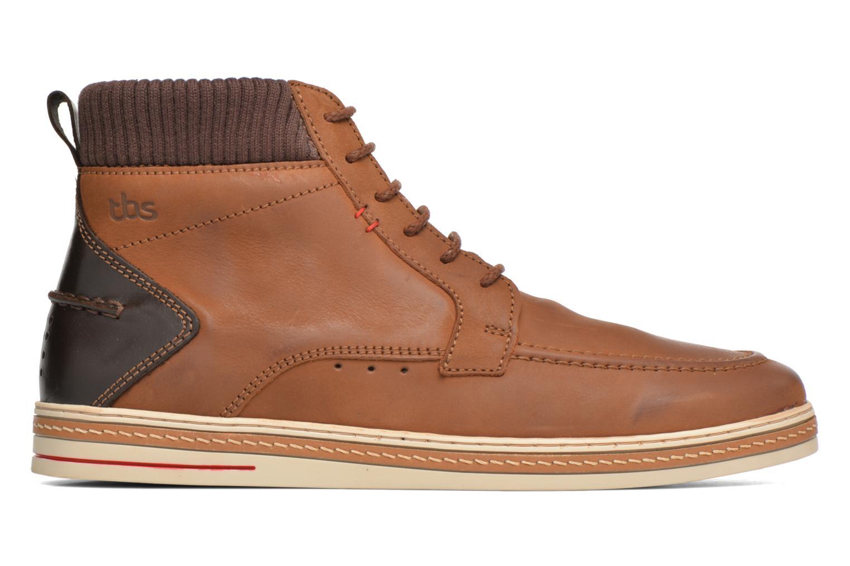 Chaussures à lacets TBS Nannos Marron vue derrière