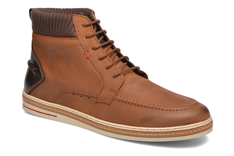 Chaussures à lacets TBS Nannos Marron vue détail/paire