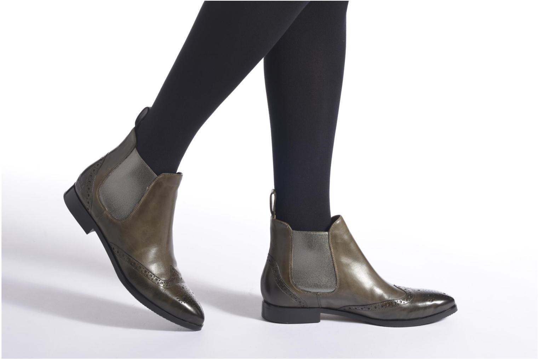 Bottines et boots Melvin & Hamilton Jessy 4 Vert vue bas / vue portée sac