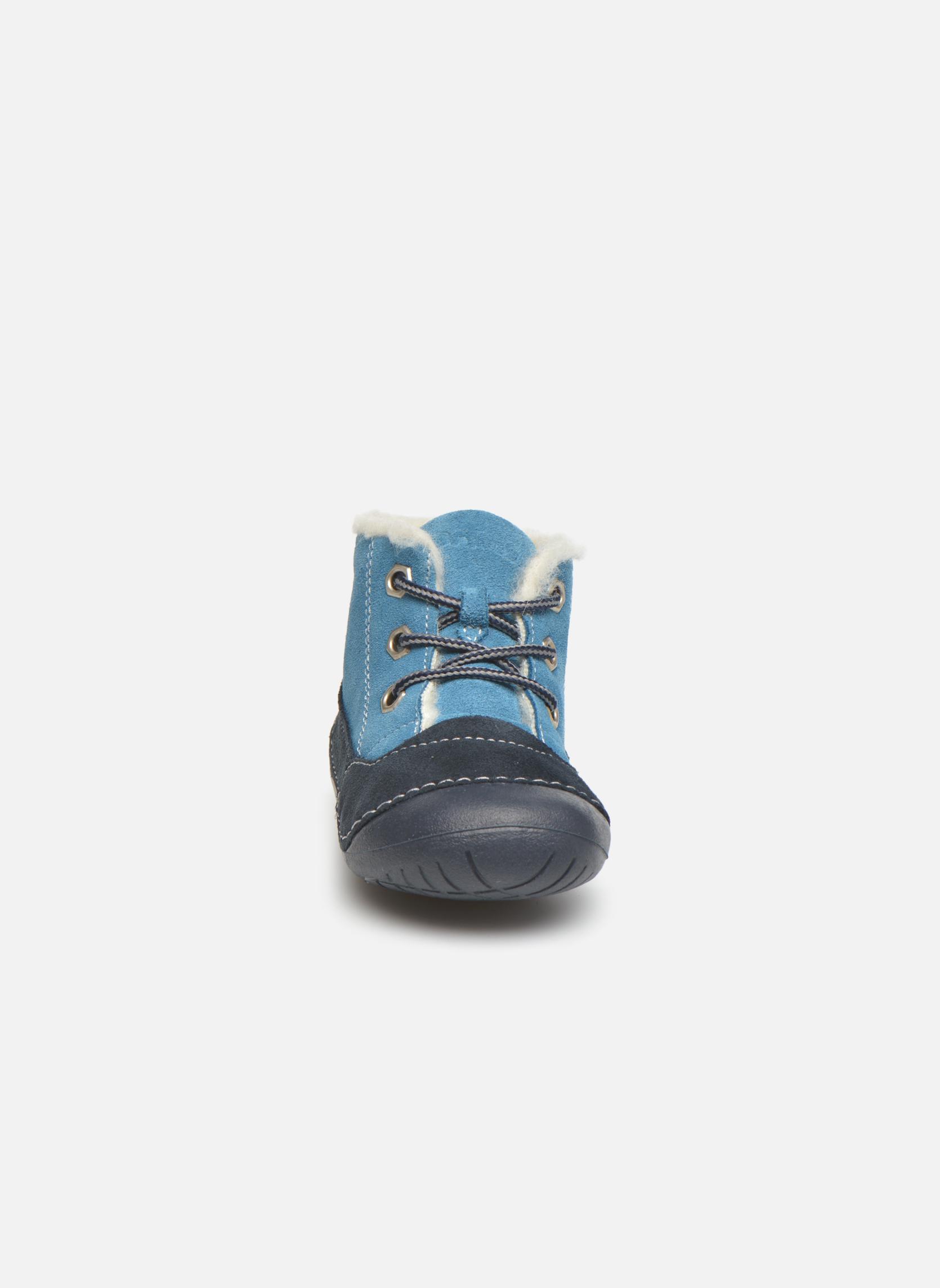Bottines et boots Primigi Raffyx-E Bleu vue portées chaussures