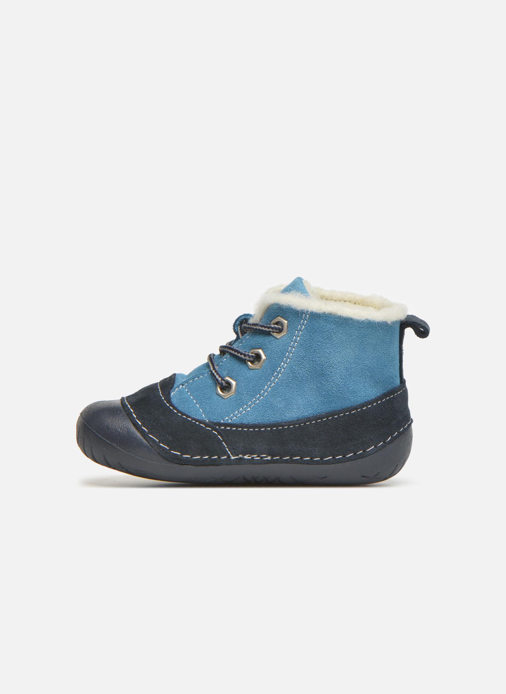 Bottines et boots Primigi Raffyx-E Bleu vue face
