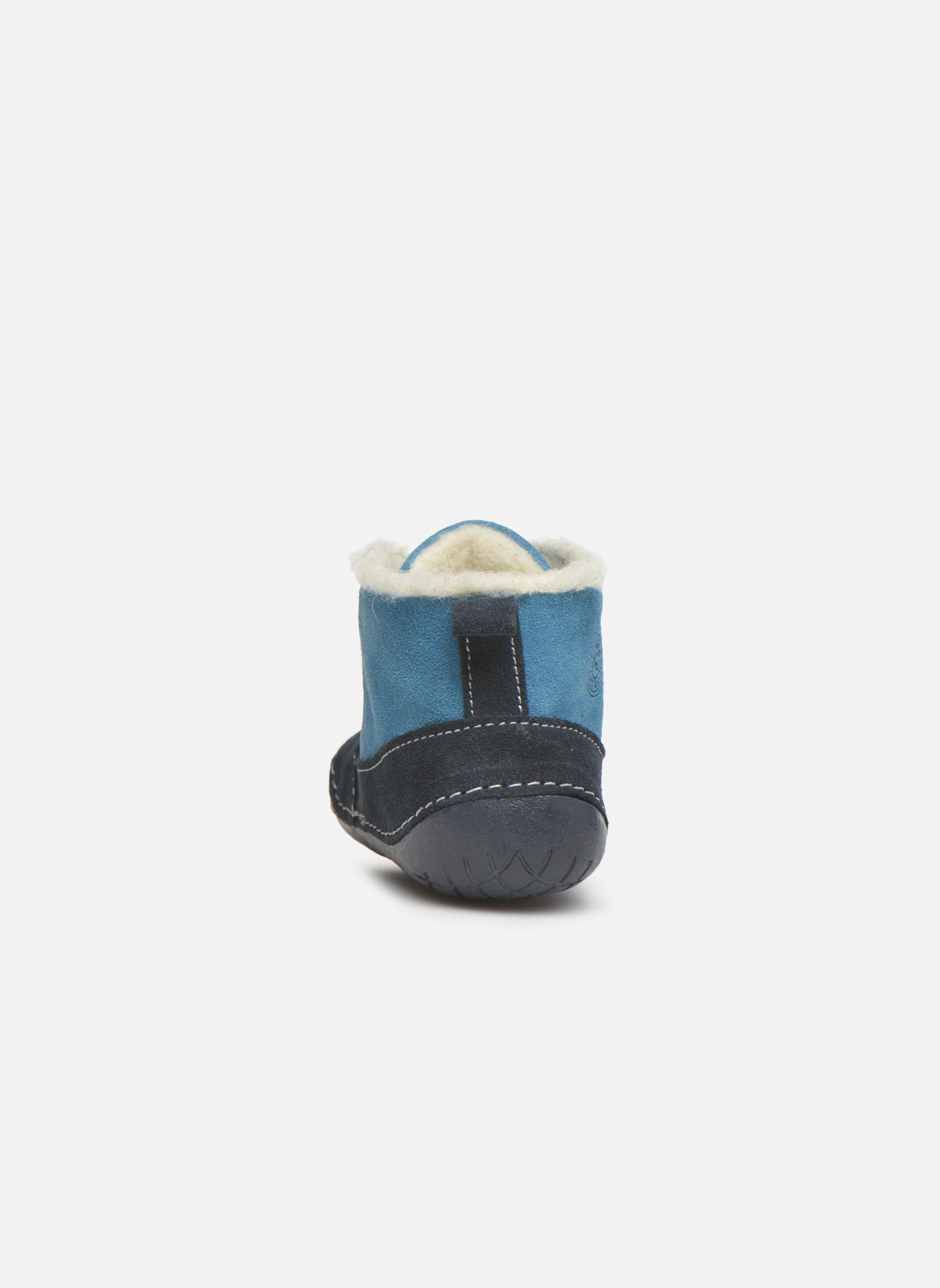 Botines  Primigi Raffyx-E Azul vista lateral derecha