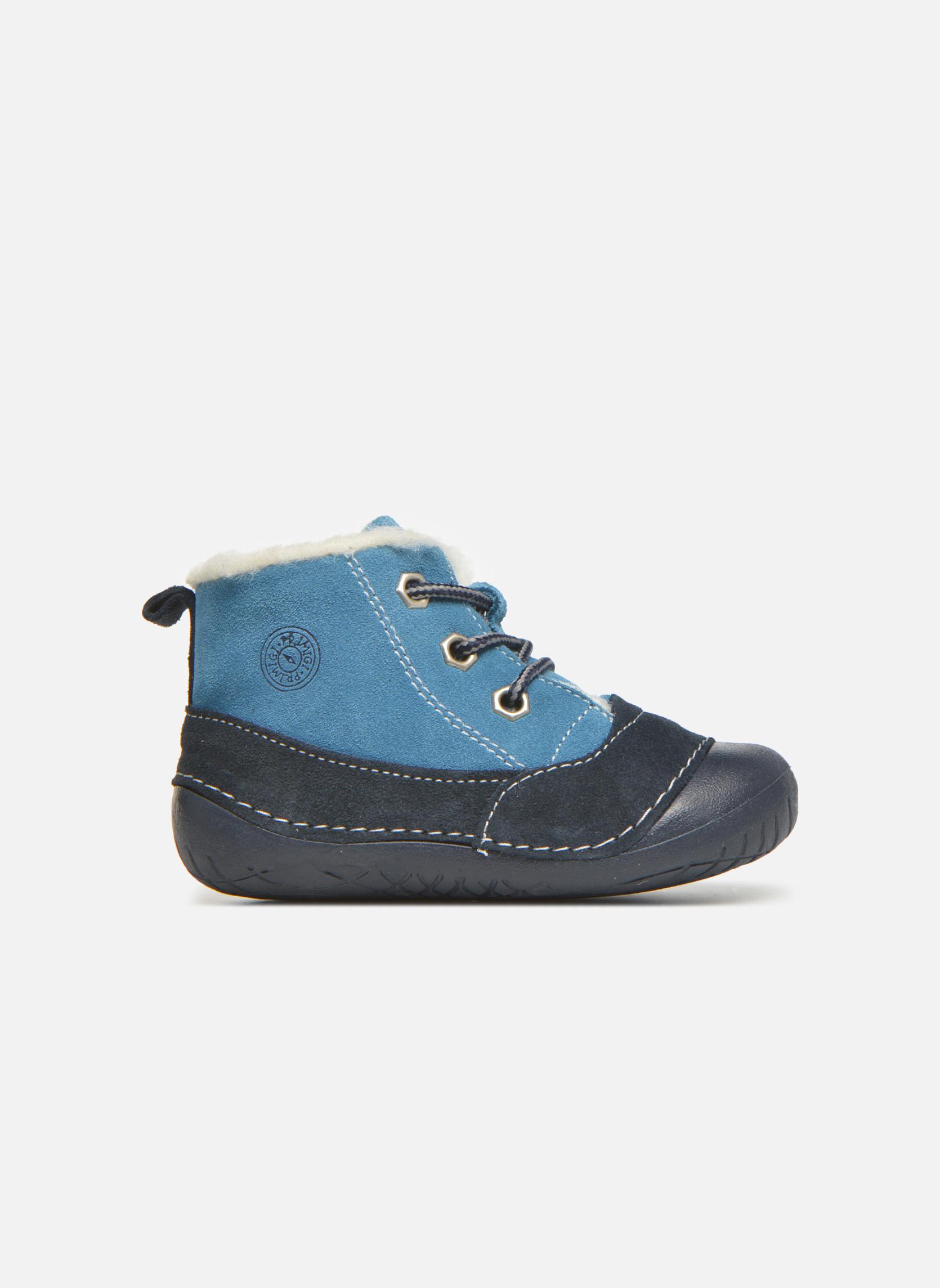 Bottines et boots Primigi Raffyx-E Bleu vue derrière