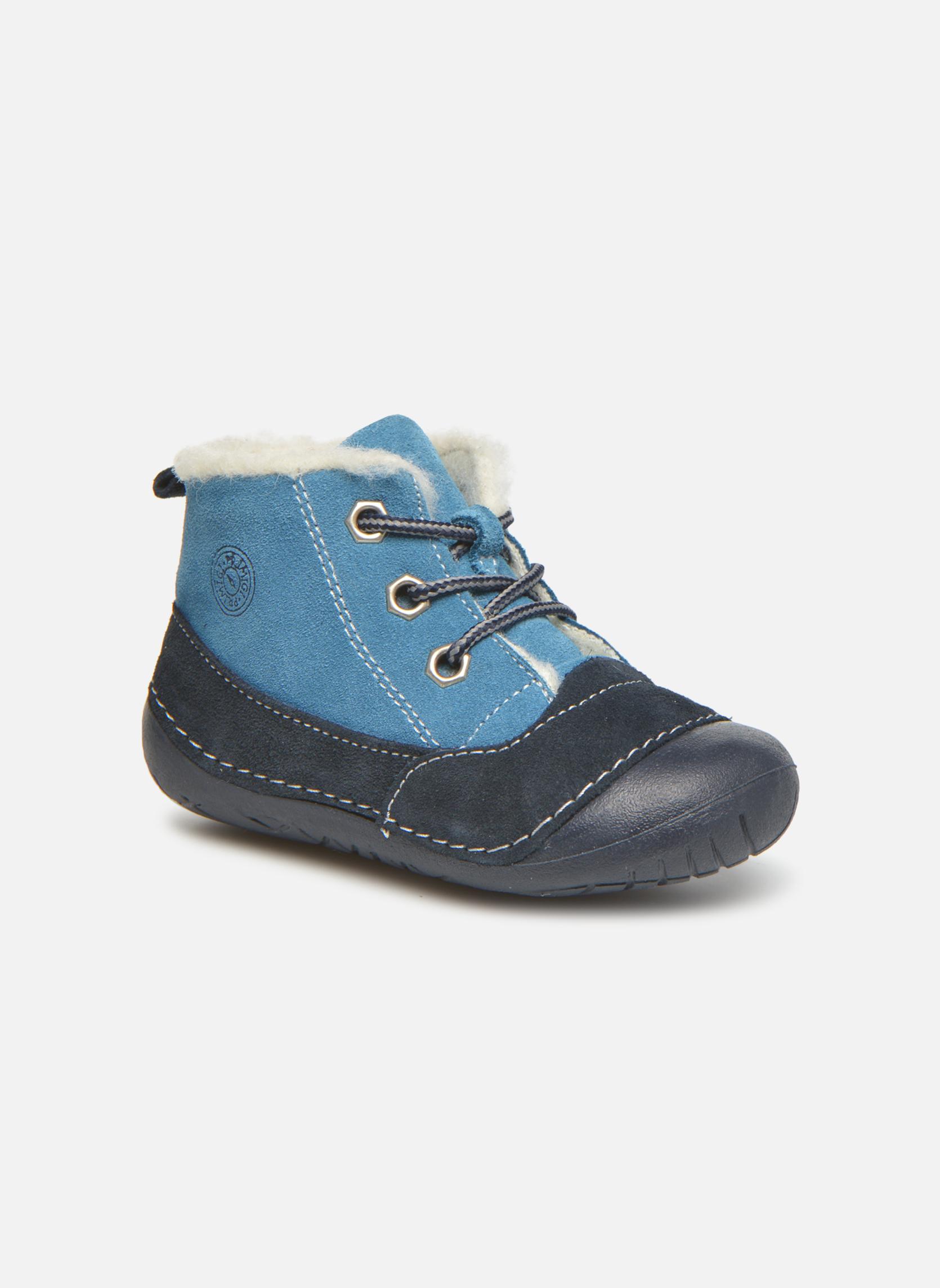 Bottines et boots Primigi Raffyx-E Bleu vue détail/paire