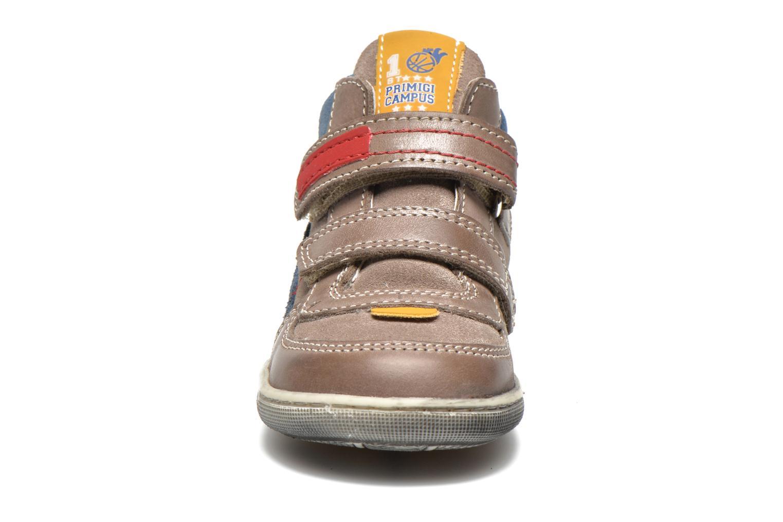 Chaussures à scratch Primigi Allen 1 Gris vue portées chaussures