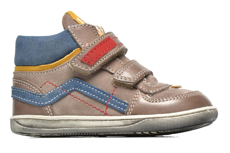 Chaussures à scratch Primigi Allen 1 Gris vue derrière