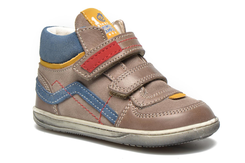 Chaussures à scratch Primigi Allen 1 Gris vue détail/paire