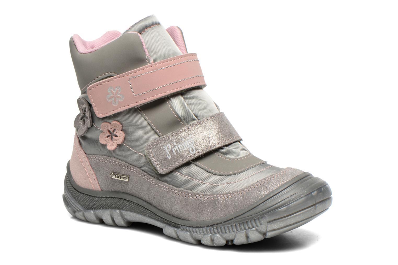 Bottines et boots Primigi Kalmar 1-e Gris vue détail/paire