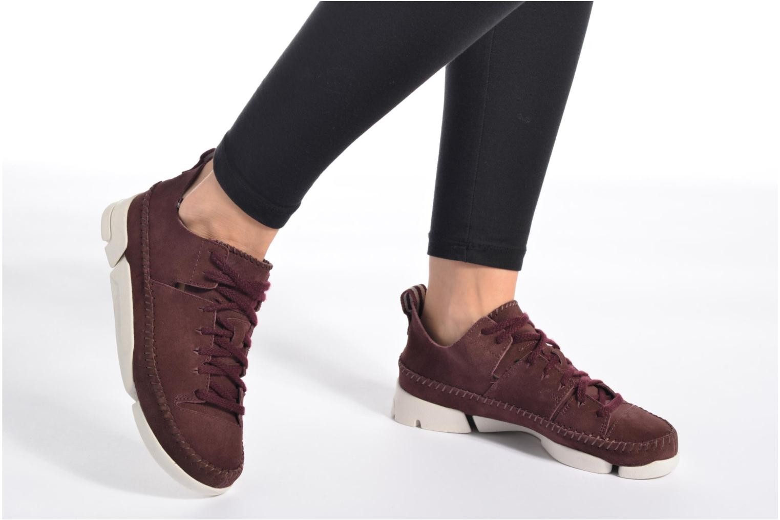 Burgundy Nubuck Clarks Originals Trigenic Flex W (Bordeaux)