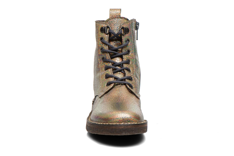 Bottines et boots PèPè Carolina Or et bronze vue portées chaussures