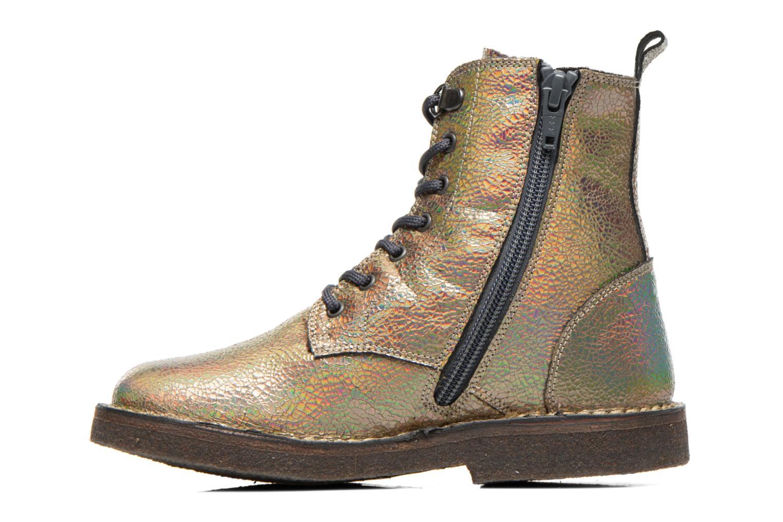 Bottines et boots PèPè Carolina Or et bronze vue face