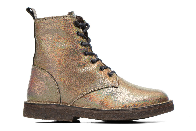 Bottines et boots PèPè Carolina Or et bronze vue derrière