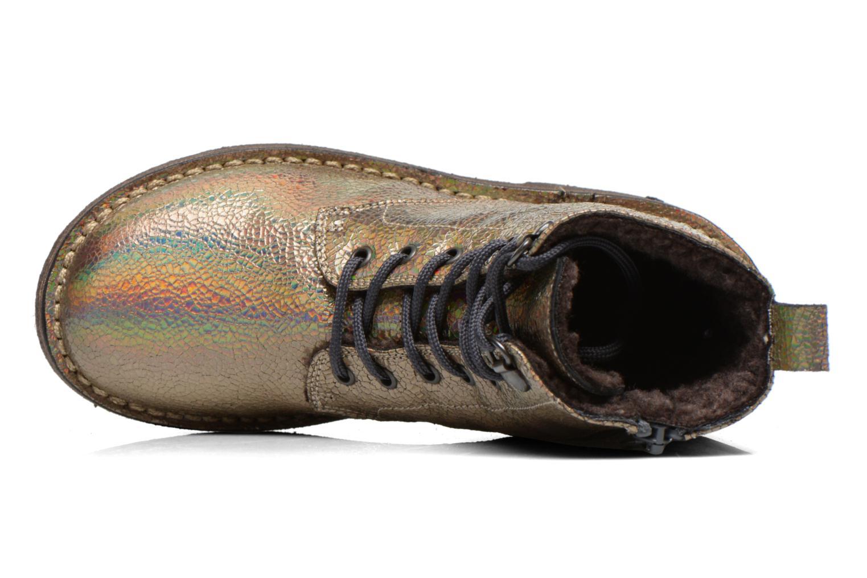 Bottines et boots PèPè Carolina Or et bronze vue gauche