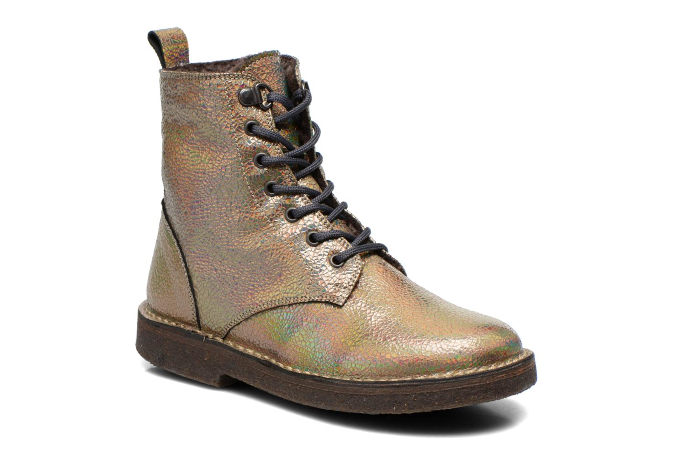Bottines et boots PèPè Carolina Or et bronze vue détail/paire