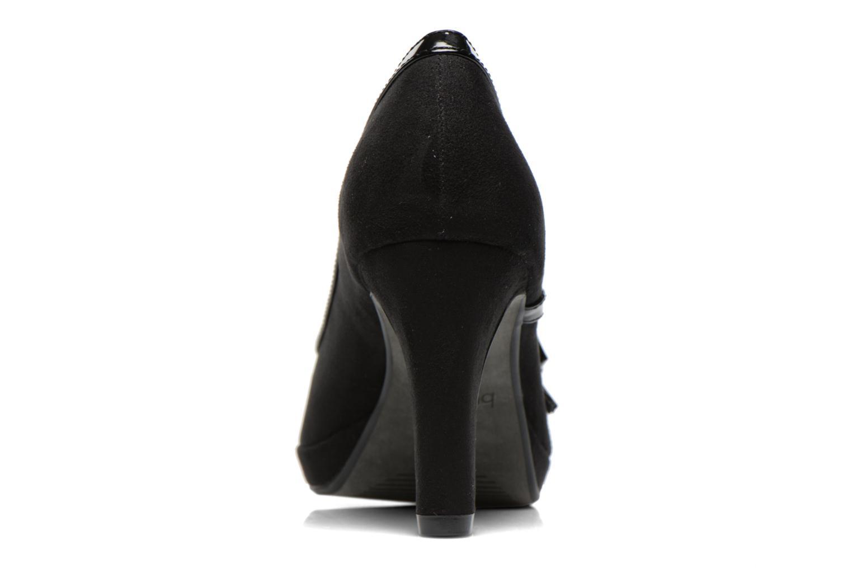 Zapatos de tacón Bugatti Haven V4965 Negro vista lateral derecha