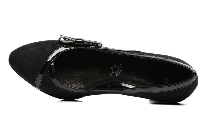 Zapatos de tacón Bugatti Haven V4965 Negro vista lateral izquierda