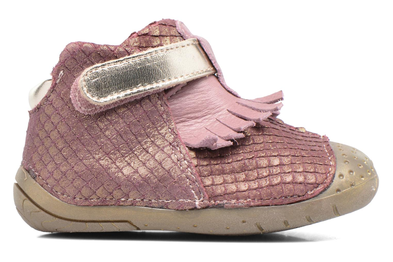 Chaussures à scratch Babybotte Zazie Rose vue derrière