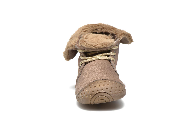 Ankelstøvler Babybotte Zouk1 Beige se skoene på