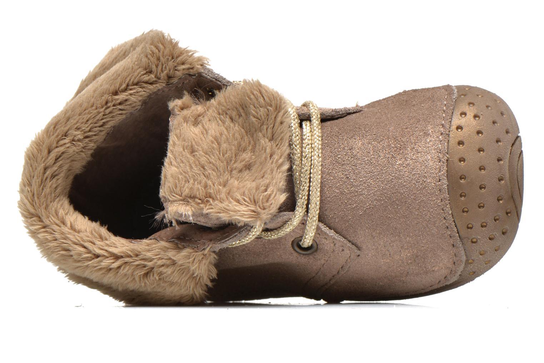 Boots en enkellaarsjes Babybotte Zouk1 Beige links