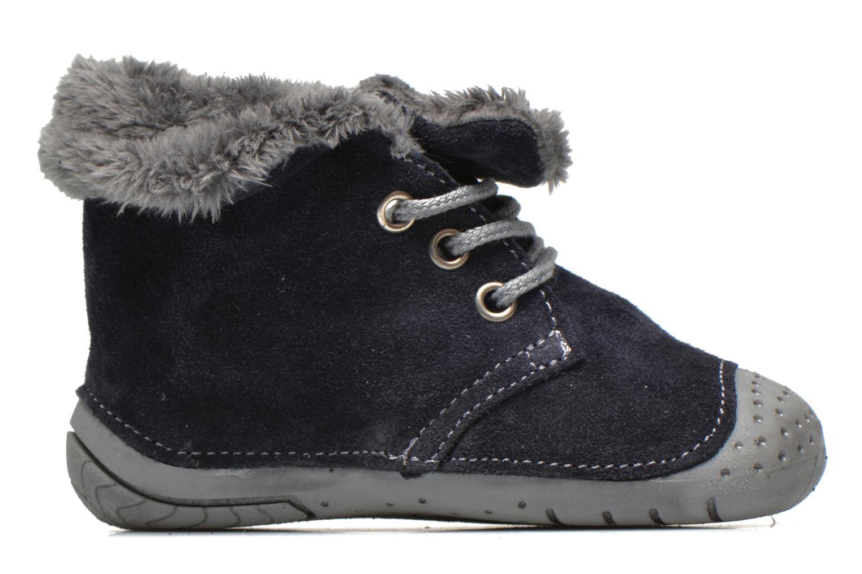 Bottines et boots Babybotte Zouk2 Gris vue derrière