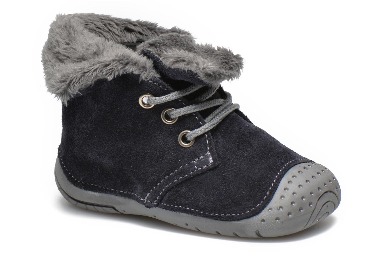 Bottines et boots Babybotte Zouk2 Gris vue détail/paire
