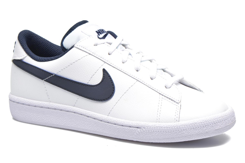 nike tennis classic blanche et bleu