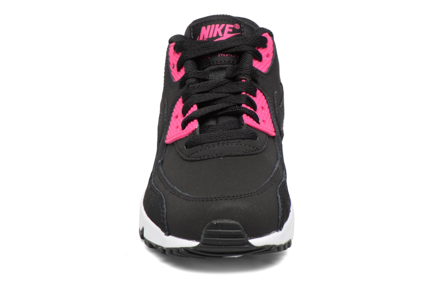 Sneakers Nike Nike Air Max 90 Ltr (Gs) Nero modello indossato