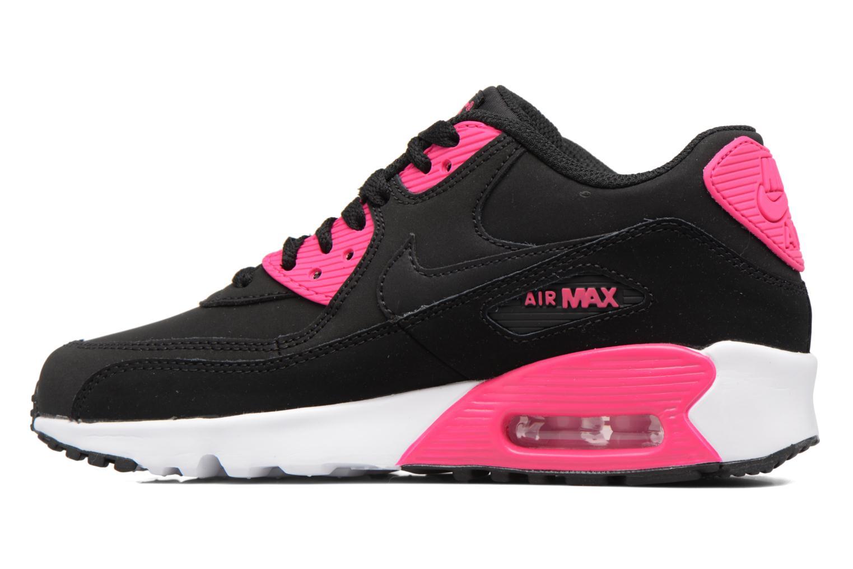 Sneaker Nike Nike Air Max 90 Ltr (Gs) schwarz ansicht von vorne