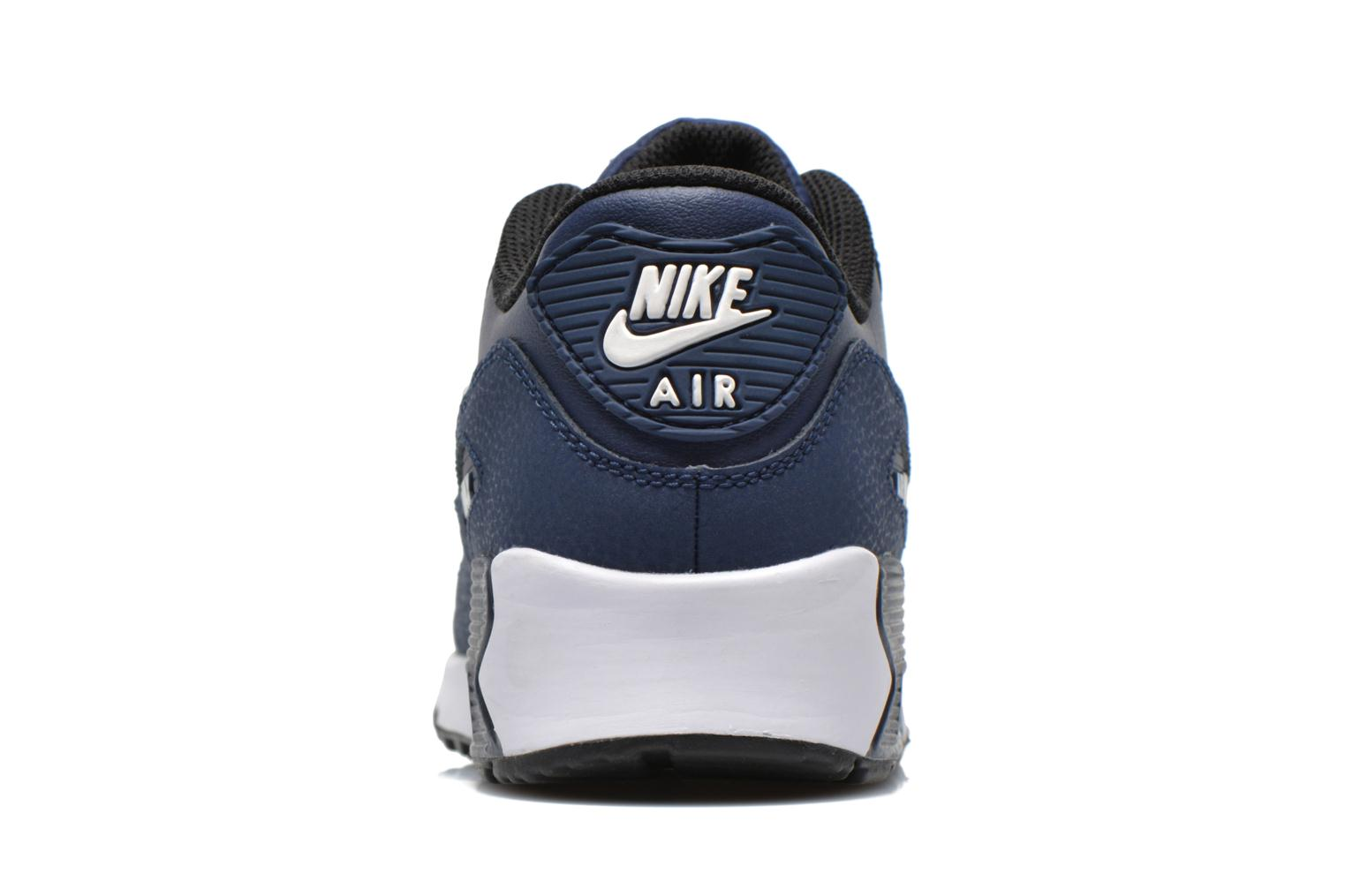 Obsidian/Navy-White Nike Nike Air Max 90 Ltr (Ps) (Bleu)