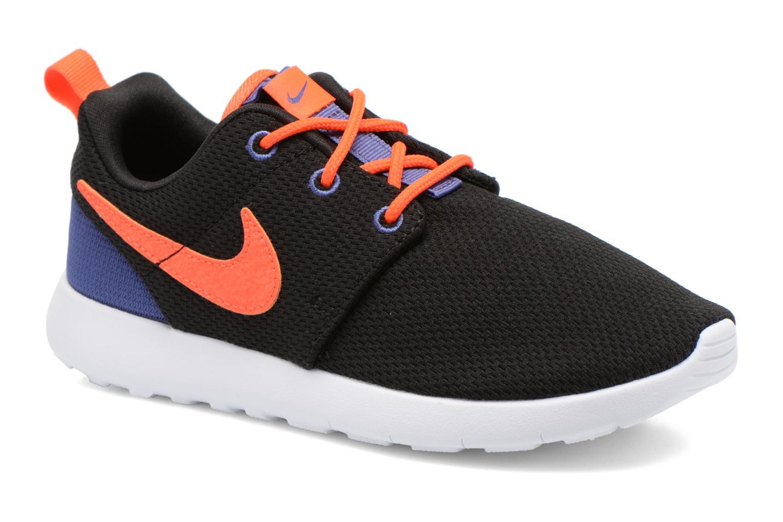 Nike Roshe One (Ps) Blck Ttl Crmsn-Dk Prpl Dst-Wht