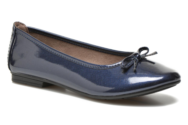Bailarinas Jana shoes Aciego Azul vista de detalle / par