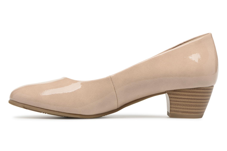 Escarpins Jana shoes Zudiri Beige vue face
