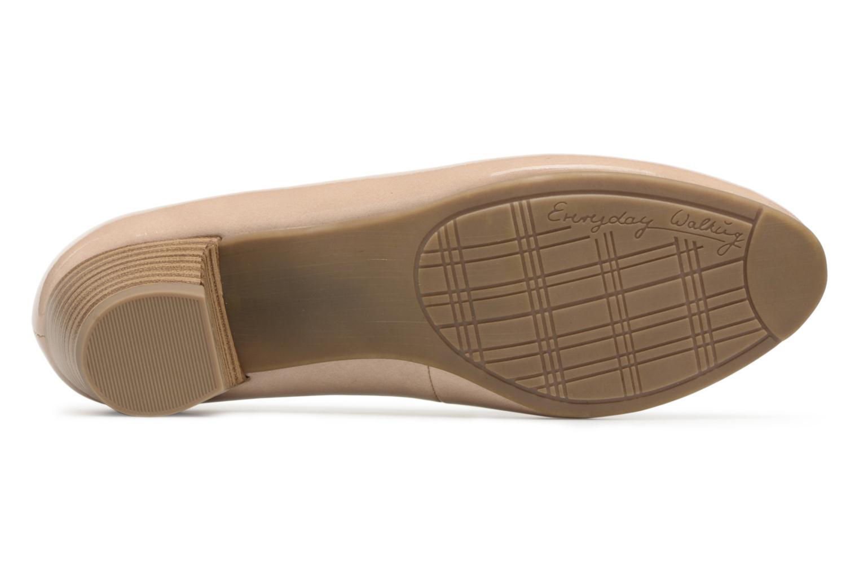 Escarpins Jana shoes Zudiri Beige vue haut