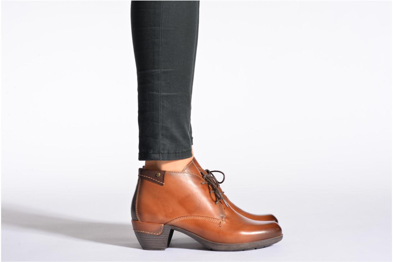 Chaussures à lacets Pikolinos ROTTERDAM 902-8538 Marron vue bas / vue portée sac