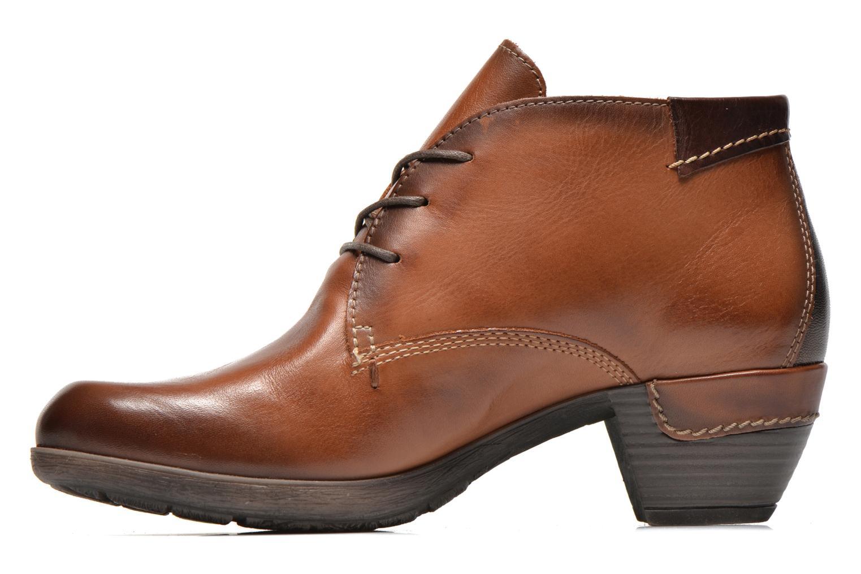Chaussures à lacets Pikolinos ROTTERDAM 902-8538 Marron vue face