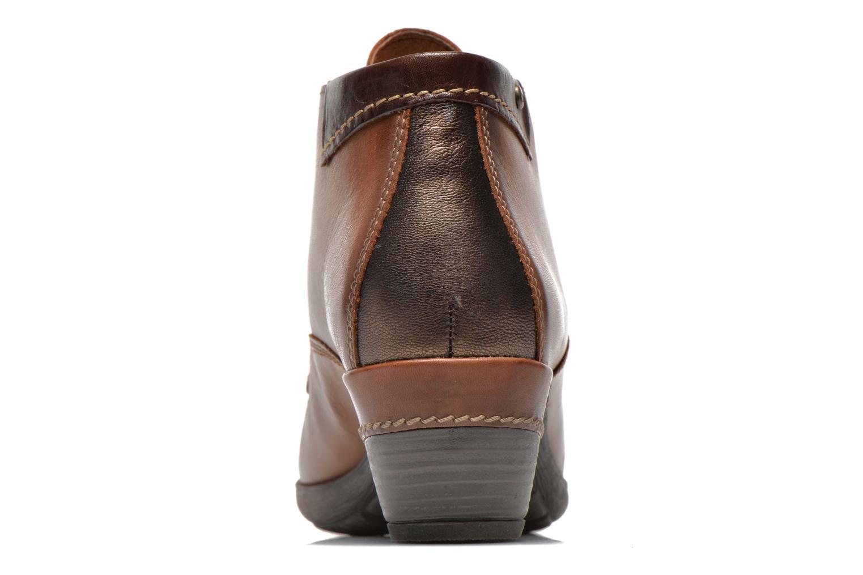 Chaussures à lacets Pikolinos ROTTERDAM 902-8538 Marron vue droite