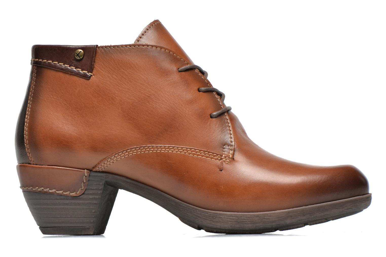 Chaussures à lacets Pikolinos ROTTERDAM 902-8538 Marron vue derrière